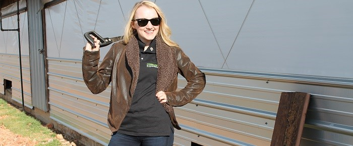 Evanna Lynch Kicks Open Doors of Factory Farm